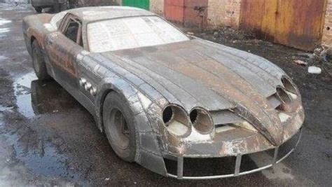 Handmade Cars - car humor joke mercedes slr mclaren replica 1
