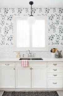 wallpaper design for kitchen the 25 best ideas about kitchen wallpaper on pinterest