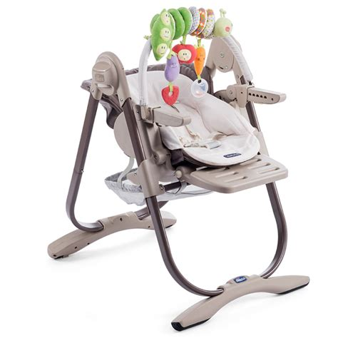chicco polly magic high chair chicco polly magic quot truffles quot 3 in 1 high chair 0 months
