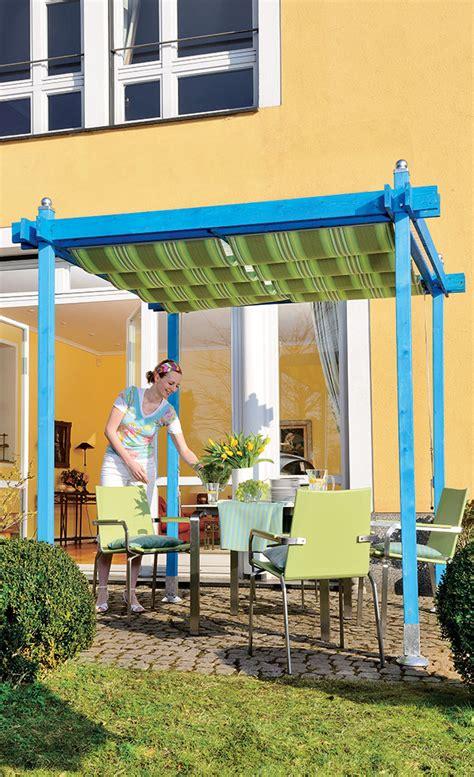 pergola balkon pergola sonnensegel sichtschutz selbst de