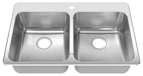 38 Inch Kitchen Sink by Stainless Steel Drop In 33 38 X 22 Inch Bowl