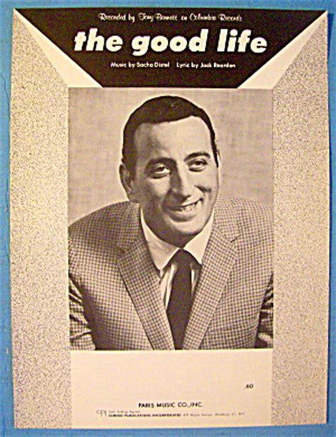 the good life tony bennett mp3 download the good life sheet music 1963 tony bennett cover image1