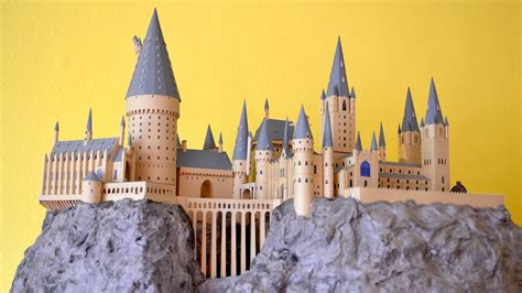 Hogwarts Castle Papercraft - papercraft harry potter hogwarts paper model