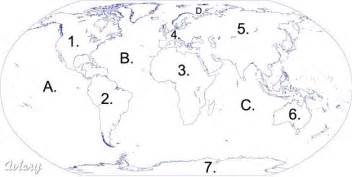 World Map Test by Continents And Oceans Quiz Pictures To Pin On Pinterest