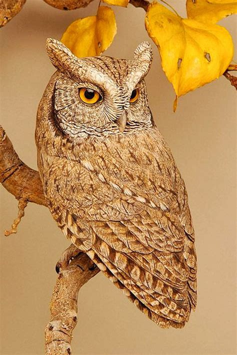 Wooden Balancing Owl my owl barn amazing wood carving by lona hymas smith