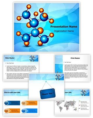 general chemistry powerpoint ppt templates ppt background professional molecule structure editable powerpoint template
