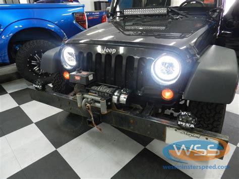 2012 jeep wrangler headlight upgrade wrangler headlight upgrade 4 wss drive easy