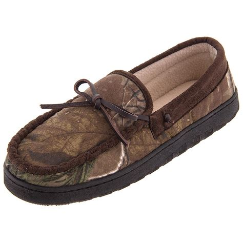 realtree slippers realtree camouflage moccasin slippers for