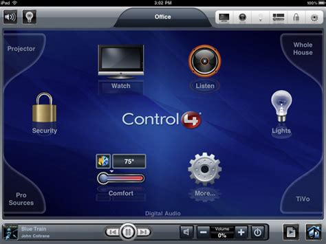 control4 app for home automation and sloth gizmodo
