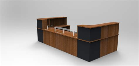 Walnut Reception Desk Images Tagged Quot Classic Reception Desk With Glass Shelves Walnut And Graphite Grey Quot Reception