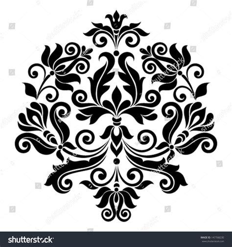 vintage ornament vector pattern vector ornamental floral element vintage style stock