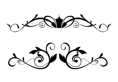 pincel cuadrado photoshop free floral ornamental border brushes free photoshop