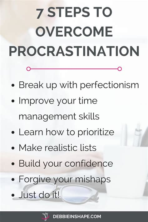Get Rid Of Procrastination by How To Deal With The Procrastinator In You Debbie Rodrigues