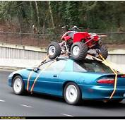 Funny Pictures  WeirdNutDaily Sports Car Trailor