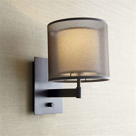 Crate And Barrel Wall Sconce Eclipse Antiqued Bronze Wall Sconce Crate And Barrel Plugs And Of