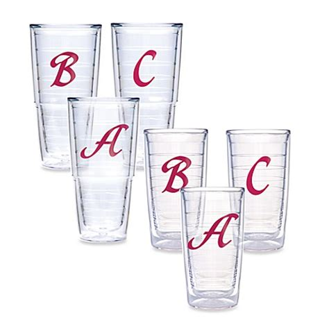 tervis bed bath and beyond tervis 174 pink monogram tumblers bed bath beyond