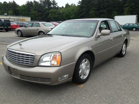 auto air conditioning service 2002 cadillac deville electronic valve timing buy used 2002 cadillac deville sedan 113k in mont vernon new hshire united states
