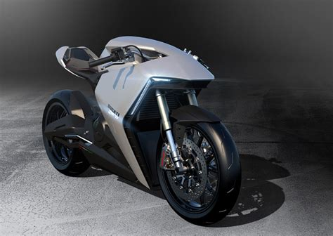 Ducati Elektro Motorrad by Ducati Zero Futuristic Design Project