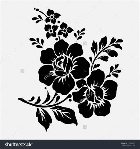 flower design eps rose motif flower design elements vector 158730425