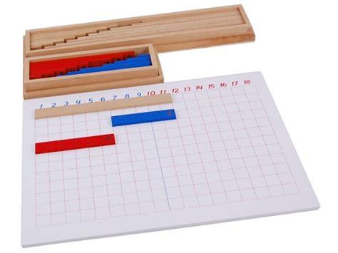 printable montessori addition strip board montessori math lessons for addition free printables
