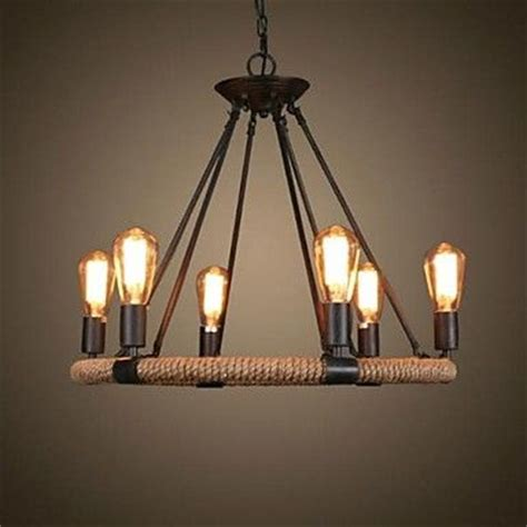 Lodge Style Lighting Fixtures 40w Chandelier Traditional Classic Rustic Lodge Retro Country Vintage Painting Feature