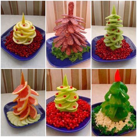 creative ideas diy fruit  vegetable christmas tree