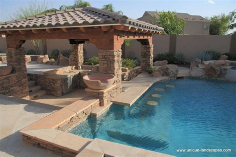 backyard up pools swim up bars and swimming pools in az photo gallery
