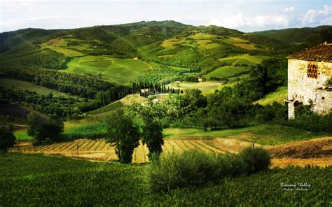 Landscape Photography Tuscany Landscape Photo Manipulation Tuscany Valley Wallpapers