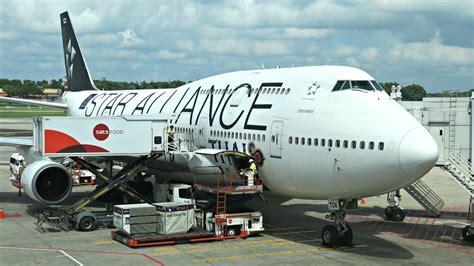 Thai Boeing 747 Passenger Airplane Alloy Plane Aircraft Metal Diecast thai airways boeing 747 400 flight experience tg404 singapore to bangkok