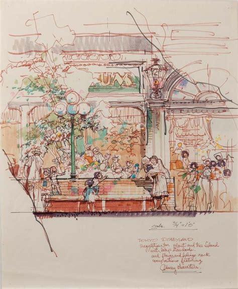 sketchbook ryman world bazaar tokyo disneyland herb ryman walt disney