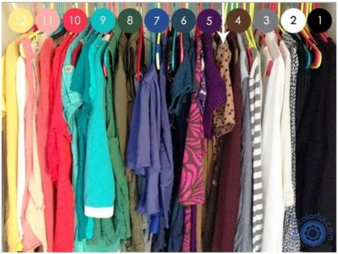 How To Color Code Your Closet by 15 Bedroom Closet Hacks You Need In Your