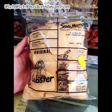 Krupuk Udang krupuk udang lobster sudi mir oleh oleh dari surabaya