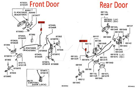 schematic of door lock schematic of ignition switch