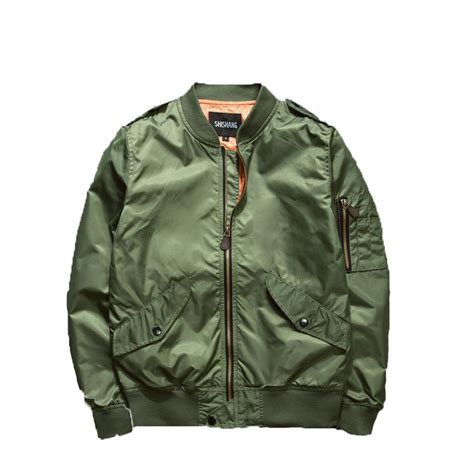 Casual Bomber Army 2016 autumn ma1 bomber jackets army green
