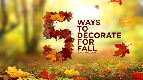 ways to decorate for fall 5 easy ways to add fall d 233 cor to your home platinum home