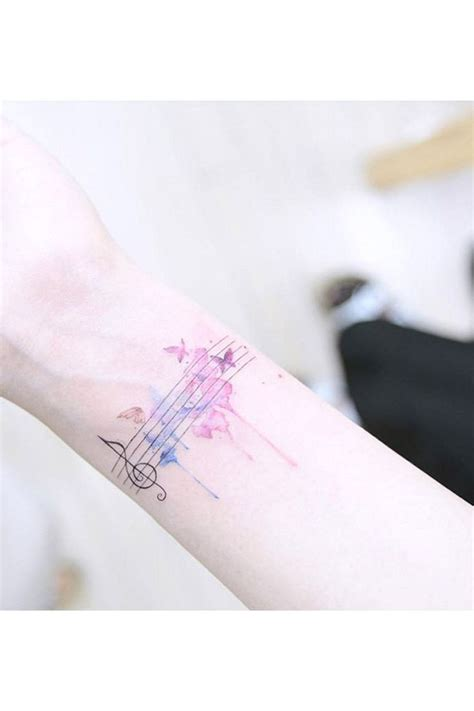 watercolor tattoo zum aufkleben best 25 song ideas on song tattoos