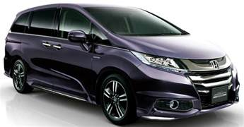 Honda Ody Honda Odyssey Hybrid Refresh Goes On Sale In Japan Image
