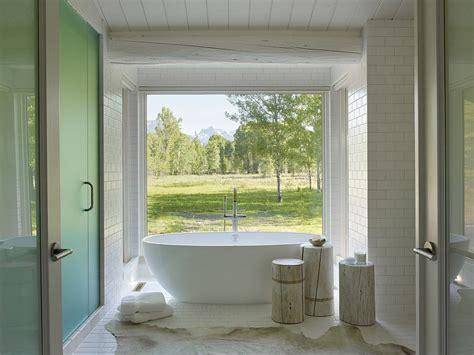 window in bathroom little luxury 30 bathrooms that delight with a side table