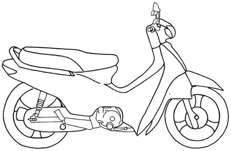 coloring pages motorcycle az coloring pages