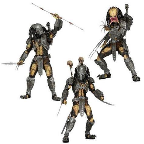 Figure Predator Isi 7 Pcs 3pcs sci fi neca avp vs predator scar chopper