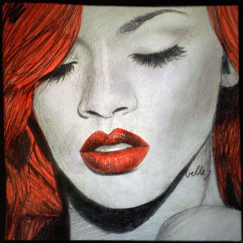 album artwork sketch rihanna loud album cover by missroxymfc on deviantart