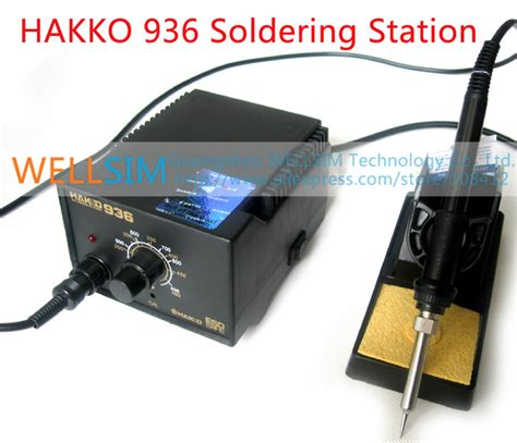 Tools Solder Station 936 Original Elemen Hakko 1 Aliexpress Buy Genuine Original Hakko 936 Soldering