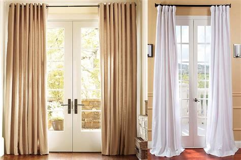 should curtains touch the floor or window sill choosing the perfect curtains for your home ffe magazine