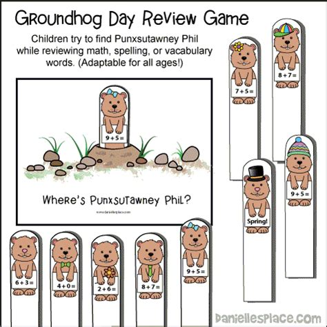 groundhog day summary groundhog day crafts