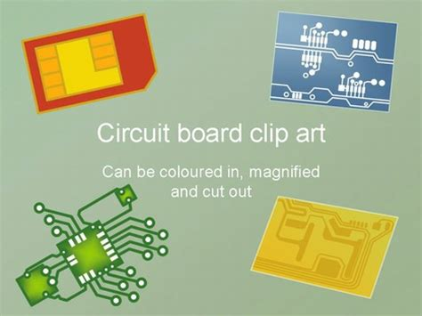 circuit board template circuit board clip