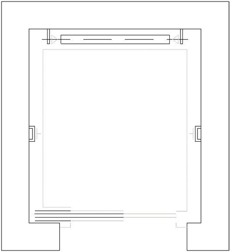 Free Home Plan rappresentazione grafica di ascensori visti in pianta