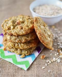 Coconut Oatmeal Cookies oatmeal coconut vanilla chip cookies simple sweet savory