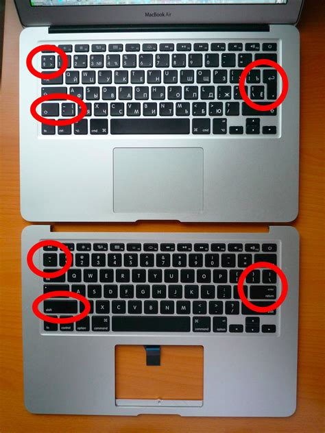 keyboard layout us vs eu macbook air 13 quot mid 2011 a1369 top case with us and ru