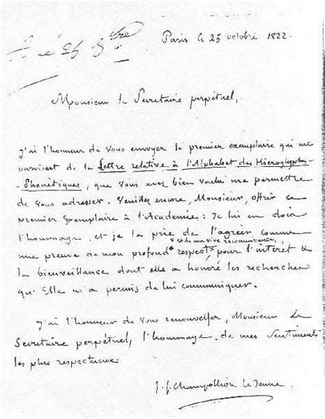 Exemple De Lettre Du Xix Siecle Modele Lettre Du 17eme Siecle Document