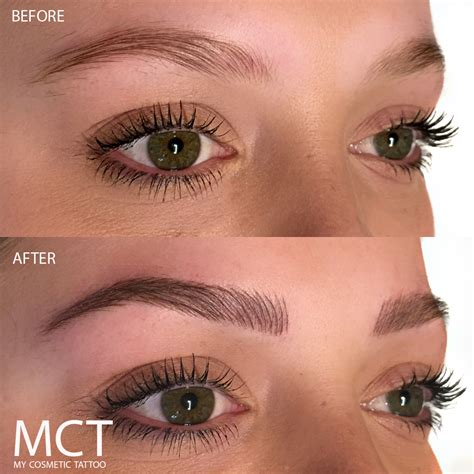 tattoo eyebrows lancaster 3d eyebrow tattoo before and after www imgkid com the